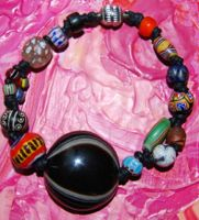 Dzi Luk Mik & trade beads